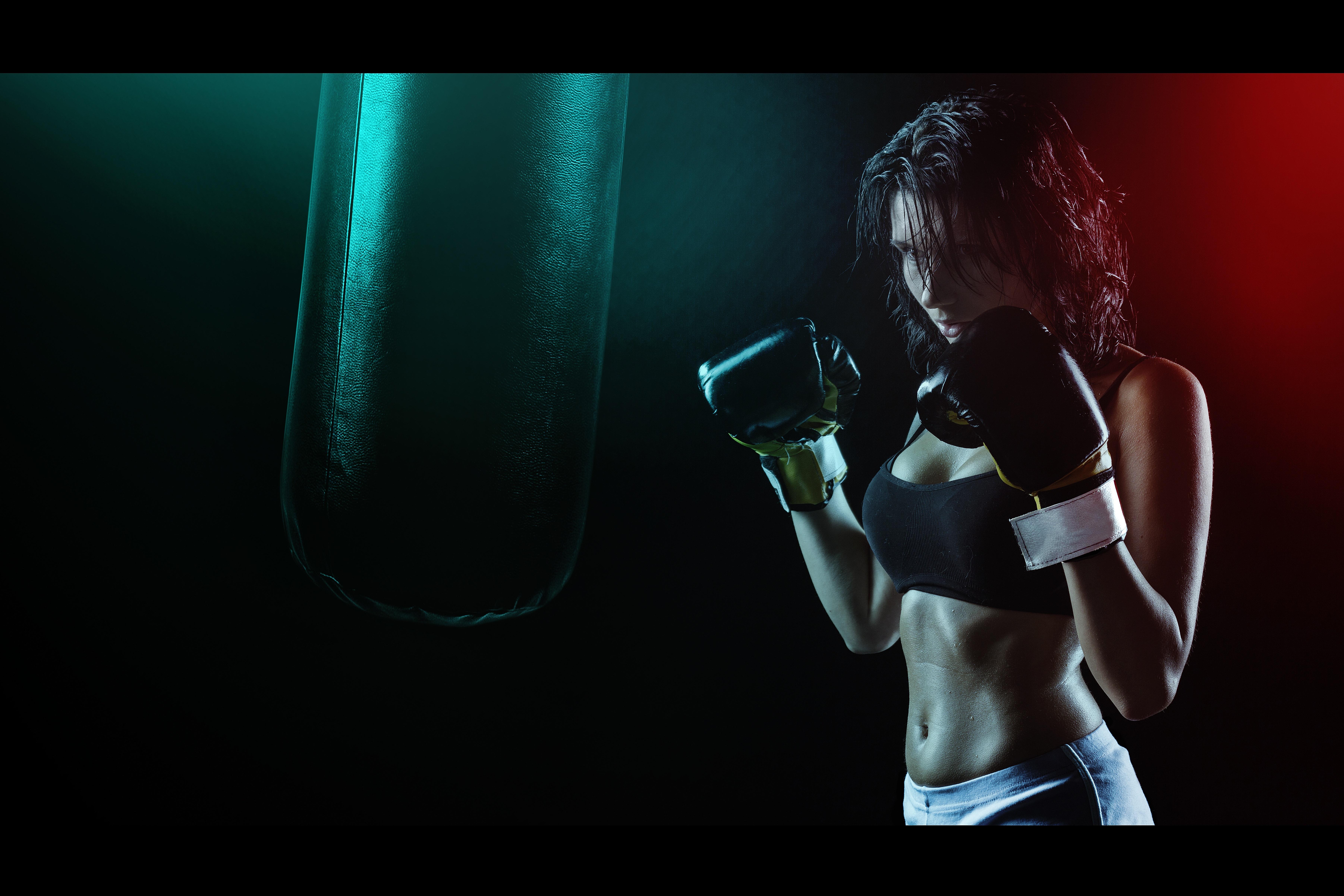 Boxning är riktigt bra fettförbränning